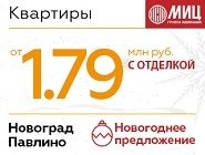 ЖК «Новоград Павлино» 3 км от метро Некрасовка (2018 г.)